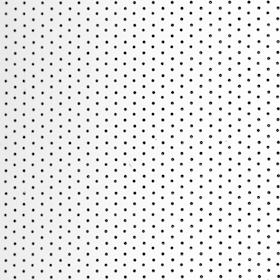 Алюминий перфорация, белый глянец