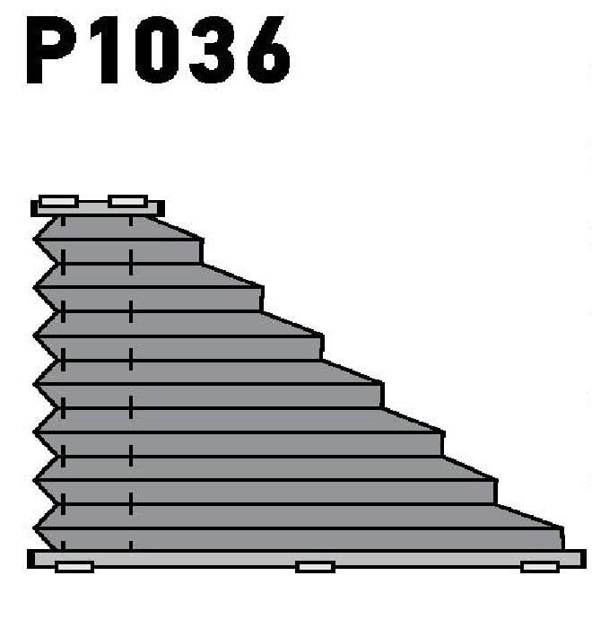 Модель P1036