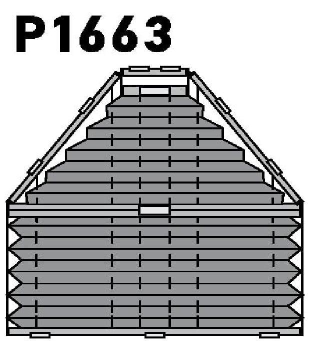 Модель P1663