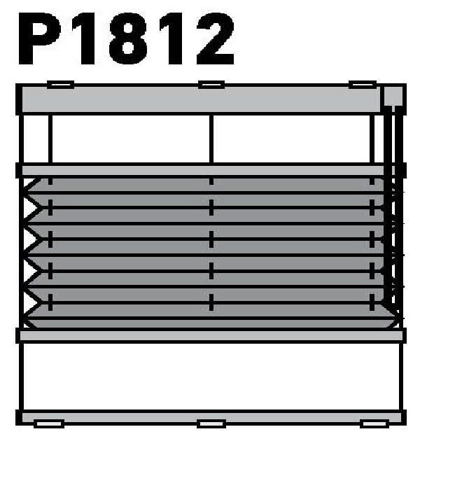Модель P1812