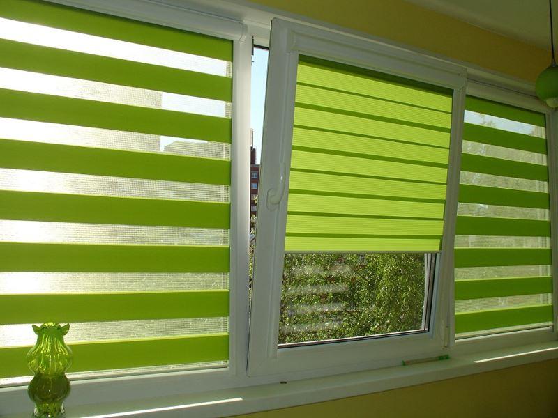 Кассетные шторы на пластиковые окна