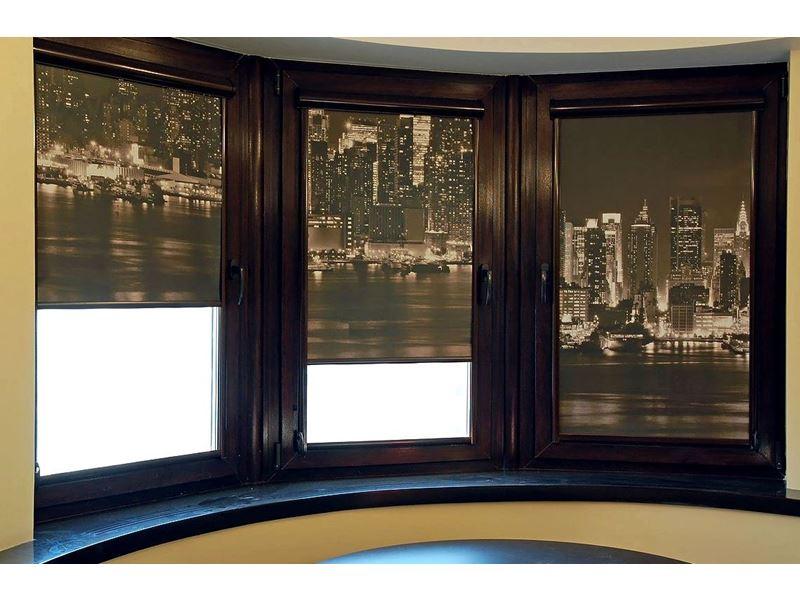 Рулонные шторы с фотопечатью