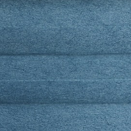 Гофре Сатин 5992 т. бирюзовый, 45 мм, 365 см