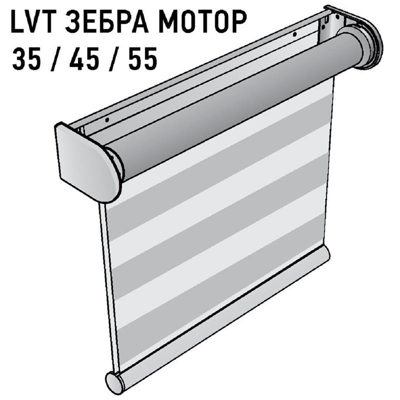 LVT Зебра мотор