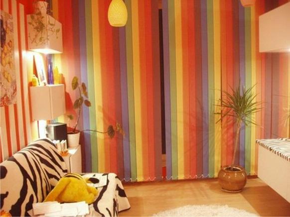 Вертикальные жалюзи в детскую комнату