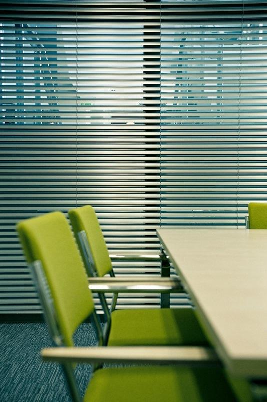 Офисные горизонтальные жалюзи