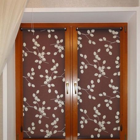 Рулонные шторы в системе Мини