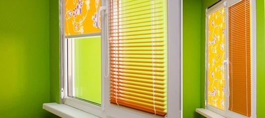 Жалюзи или рулонные шторы