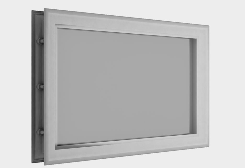 Окно акриловое 452 х 302, белое (арт. DH85626)