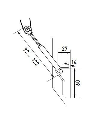Блок фиксатор веревки