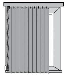 Вертикальные жалюзи установка на проем