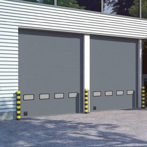 ISD01-промышленные секционные ворота