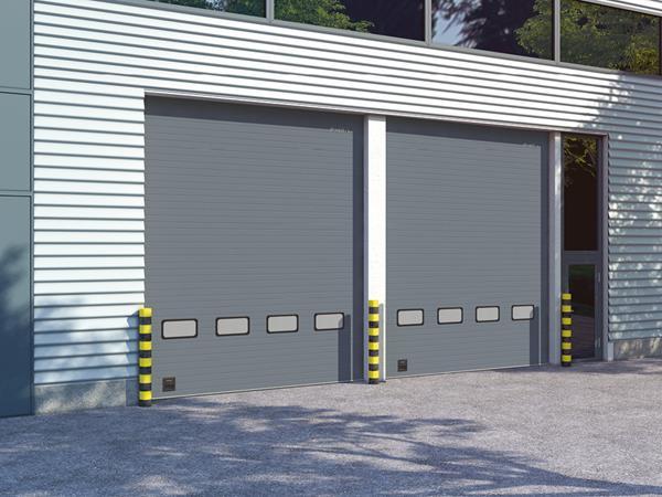 Промышленные секционные ворота серии ISD01
