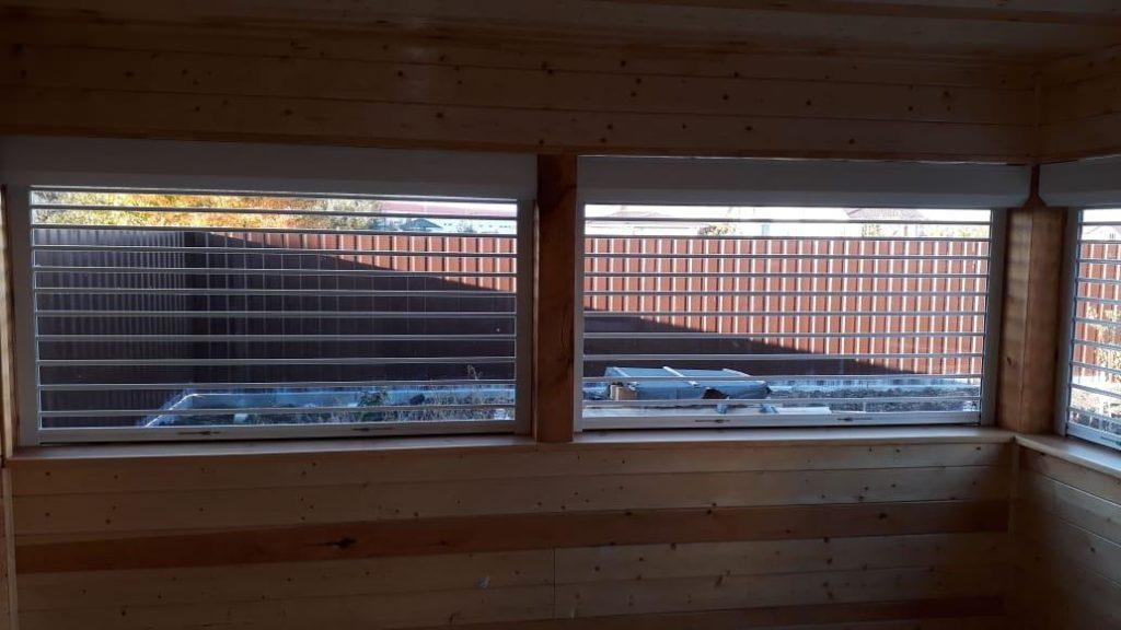 Прозрачные рольставни на окна